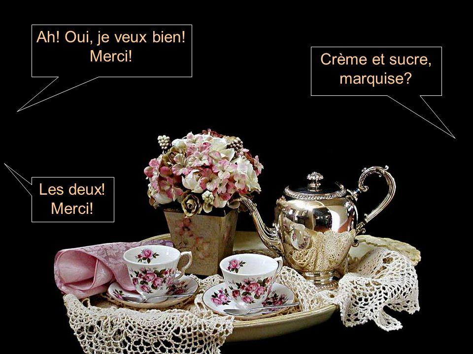 Crème et sucre, marquise