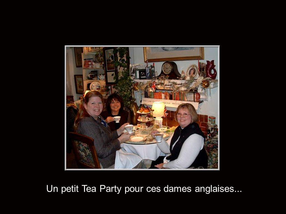 Un petit Tea Party pour ces dames anglaises...