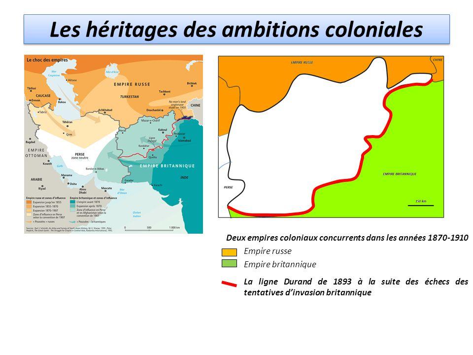 Les héritages des ambitions coloniales