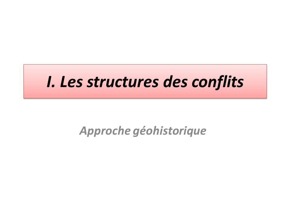 I. Les structures des conflits