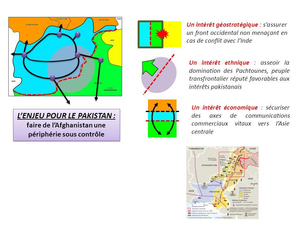 Un intérêt géostratégique : s'assurer un front occidental non menaçant en cas de conflit avec l'Inde