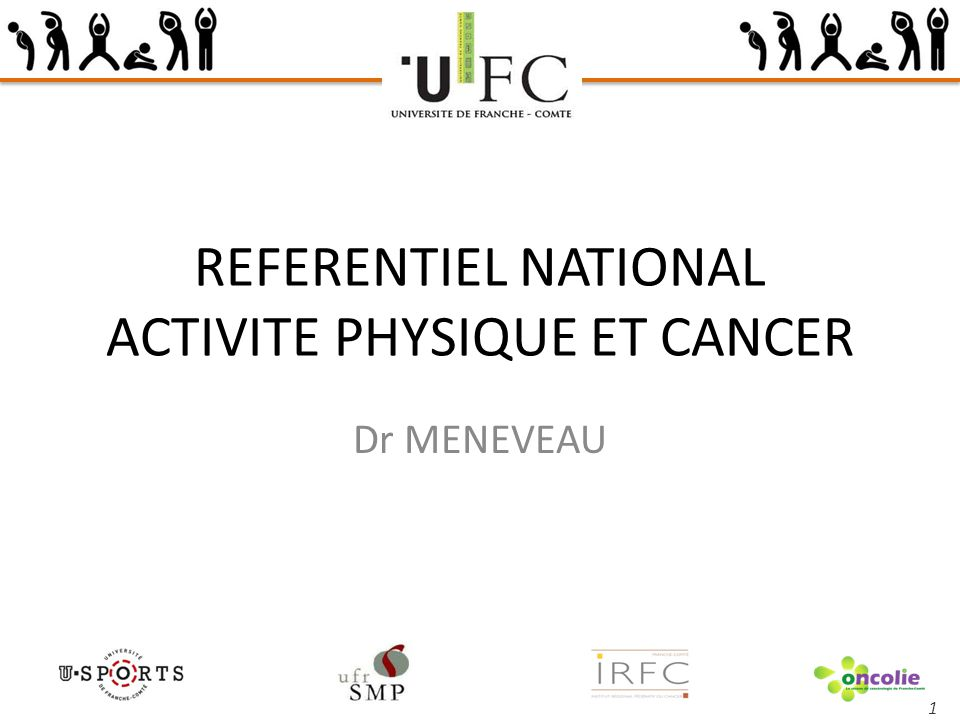 REFERENTIEL NATIONAL ACTIVITE PHYSIQUE ET CANCER