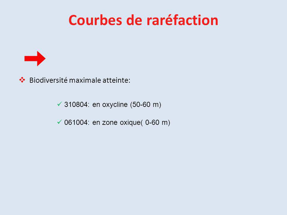 Courbes de raréfaction