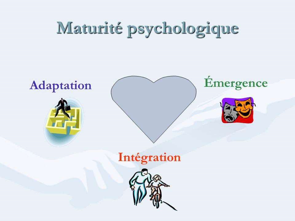 Maturité psychologique