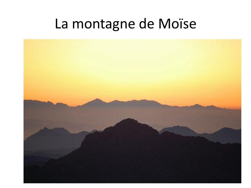 La montagne de Moïse