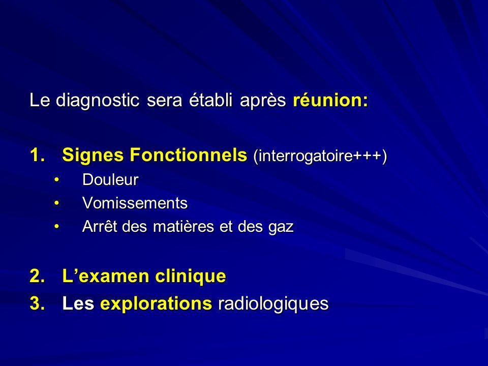 Le diagnostic sera établi après réunion: