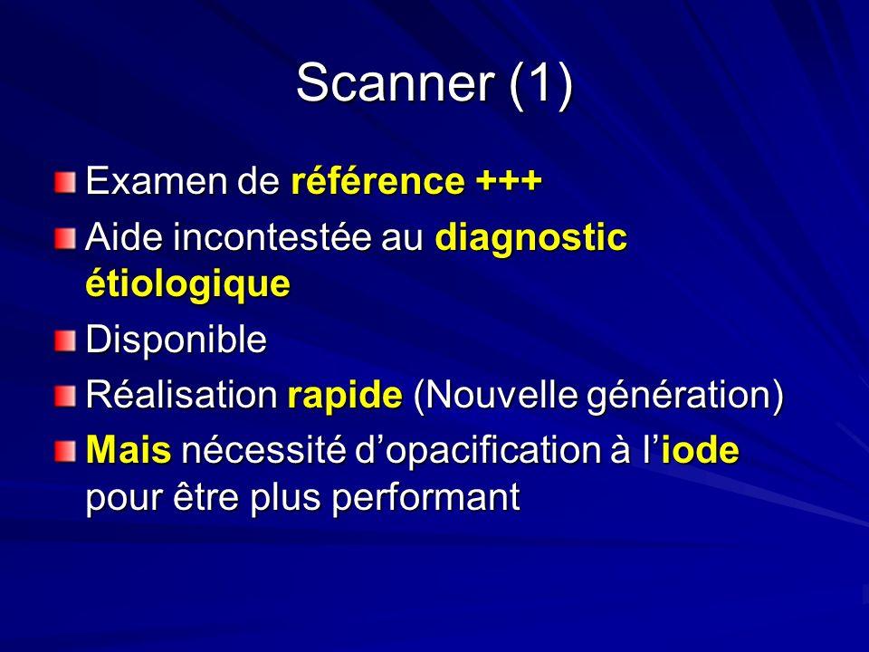 Scanner (1) Examen de référence +++