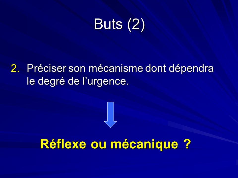 Buts (2) Réflexe ou mécanique