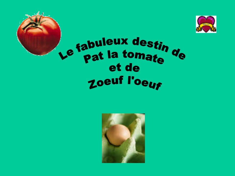Le fabuleux destin de Pat la tomate et de Zoeuf l oeuf