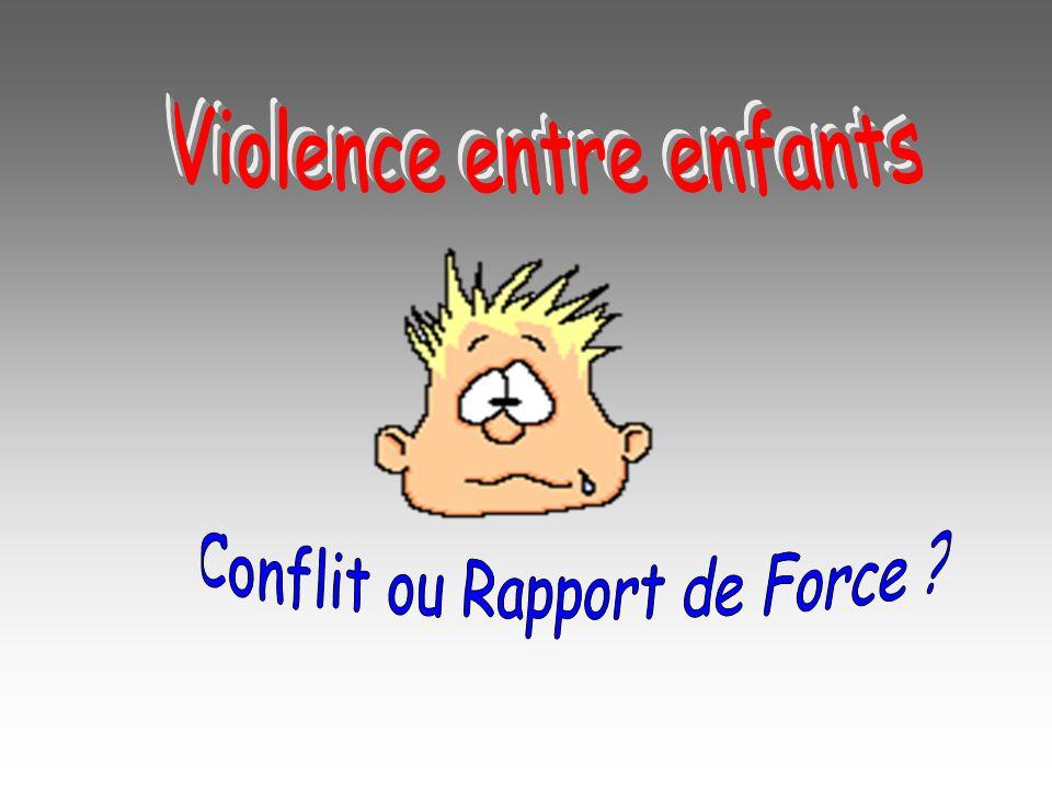 Violence entre enfants
