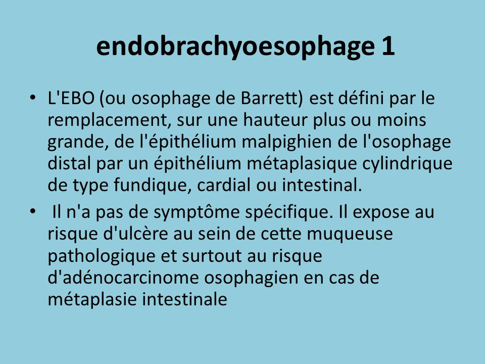 endobrachyoesophage 1