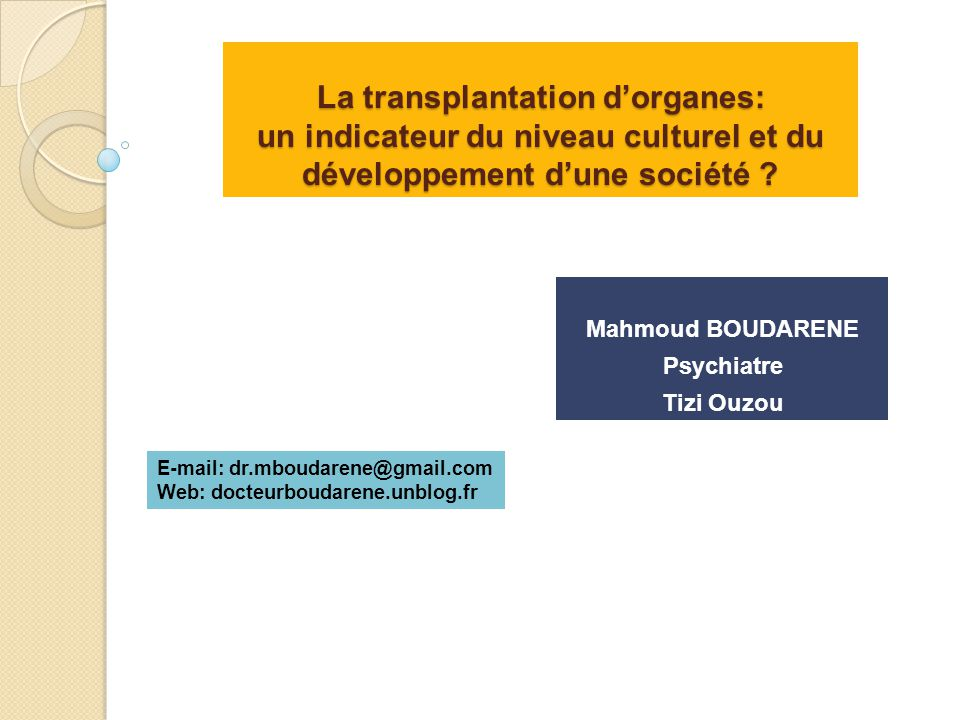 Mahmoud BOUDARENE Psychiatre Tizi Ouzou