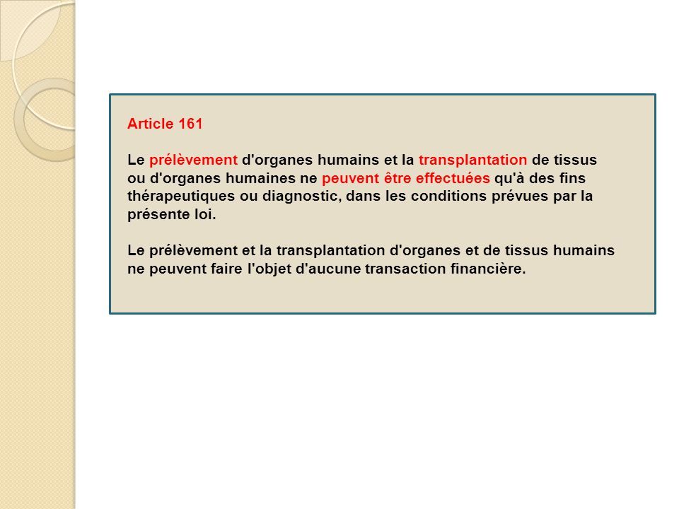 Article 161