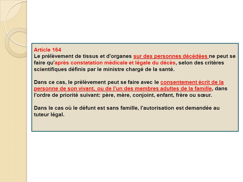 Article 164
