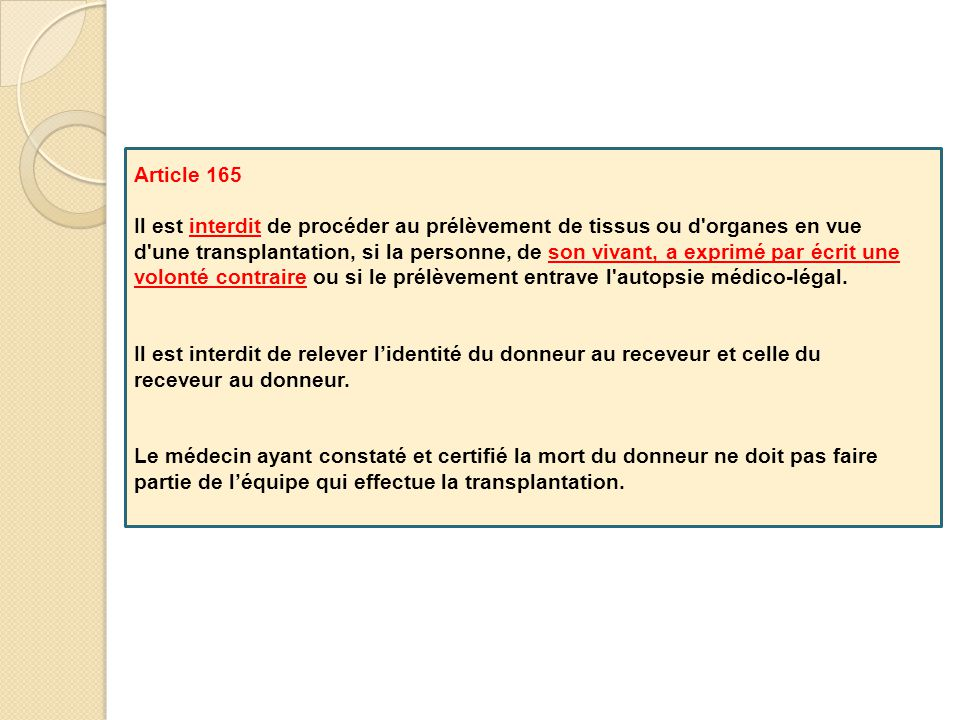 Article 165