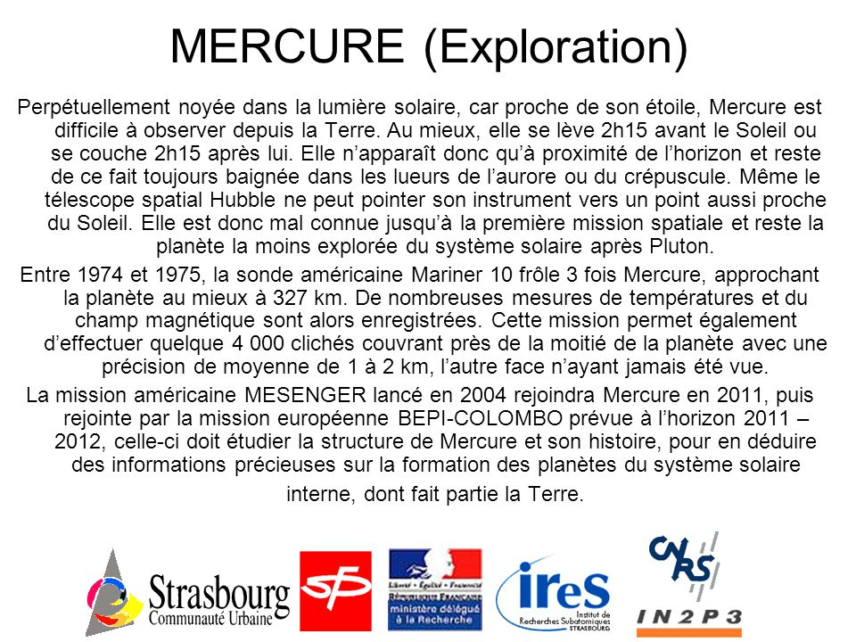 MERCURE (Exploration)