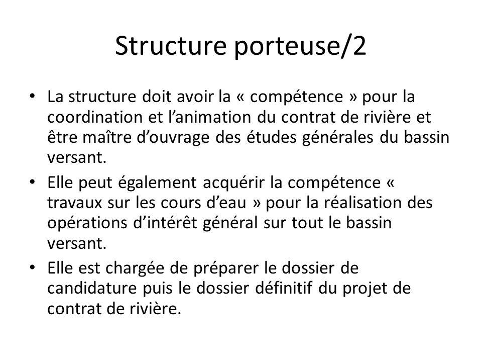 Structure porteuse/2