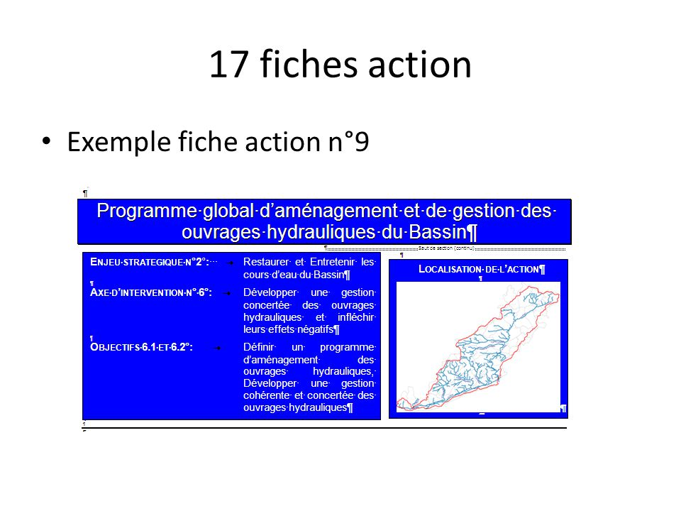 17 fiches action Exemple fiche action n°9