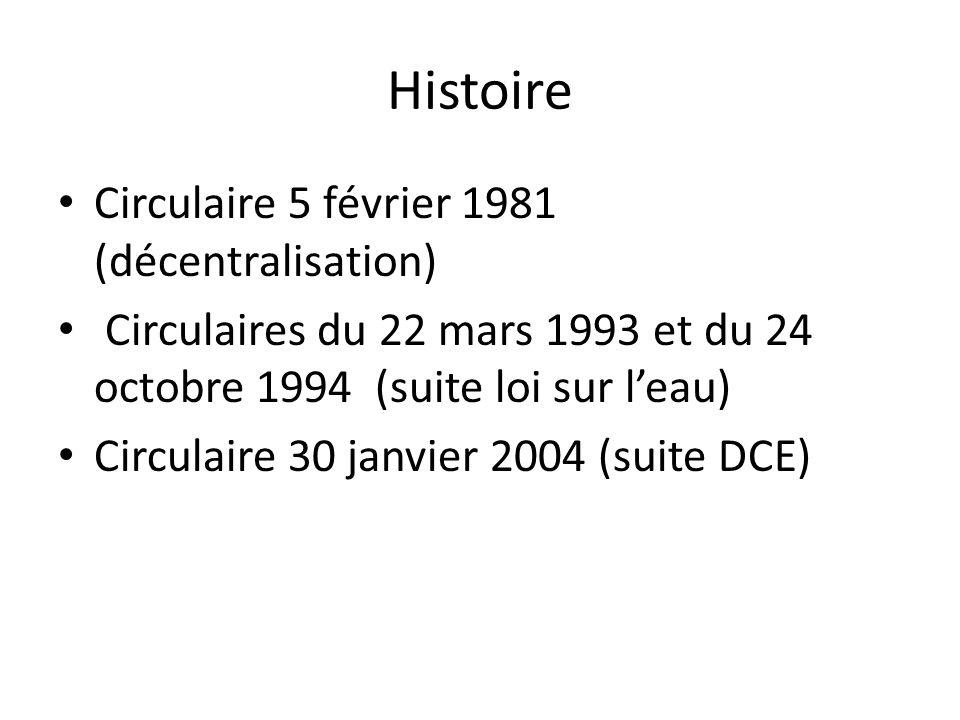 Histoire Circulaire 5 février 1981 (décentralisation)