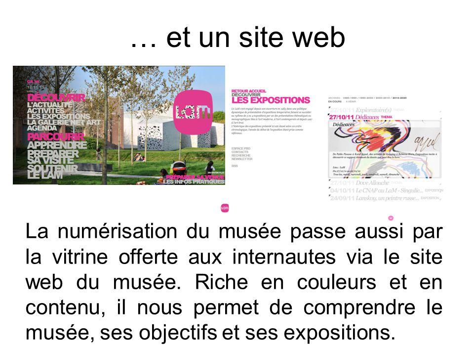 … et un site web