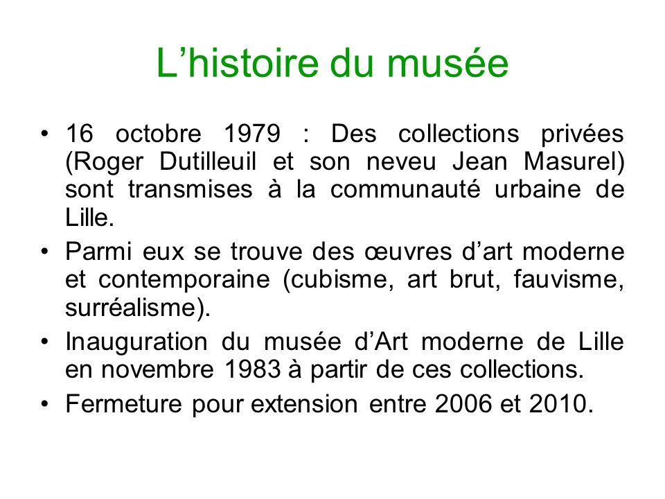 L'histoire du musée