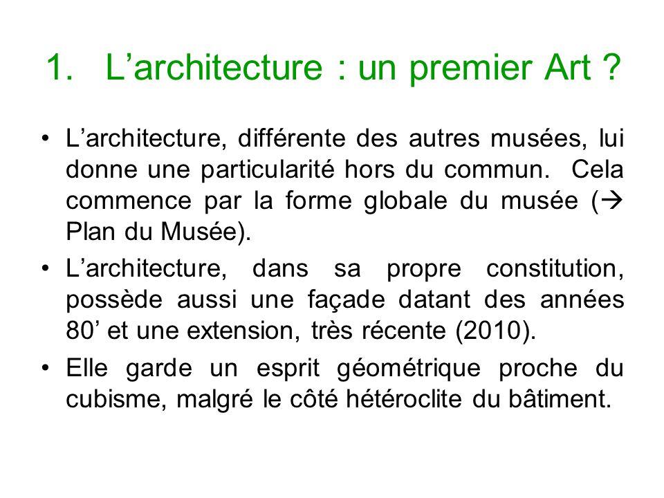 L'architecture : un premier Art