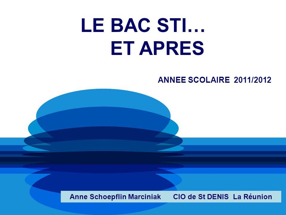 Anne Schoepflin Marciniak CIO de St DENIS La Réunion