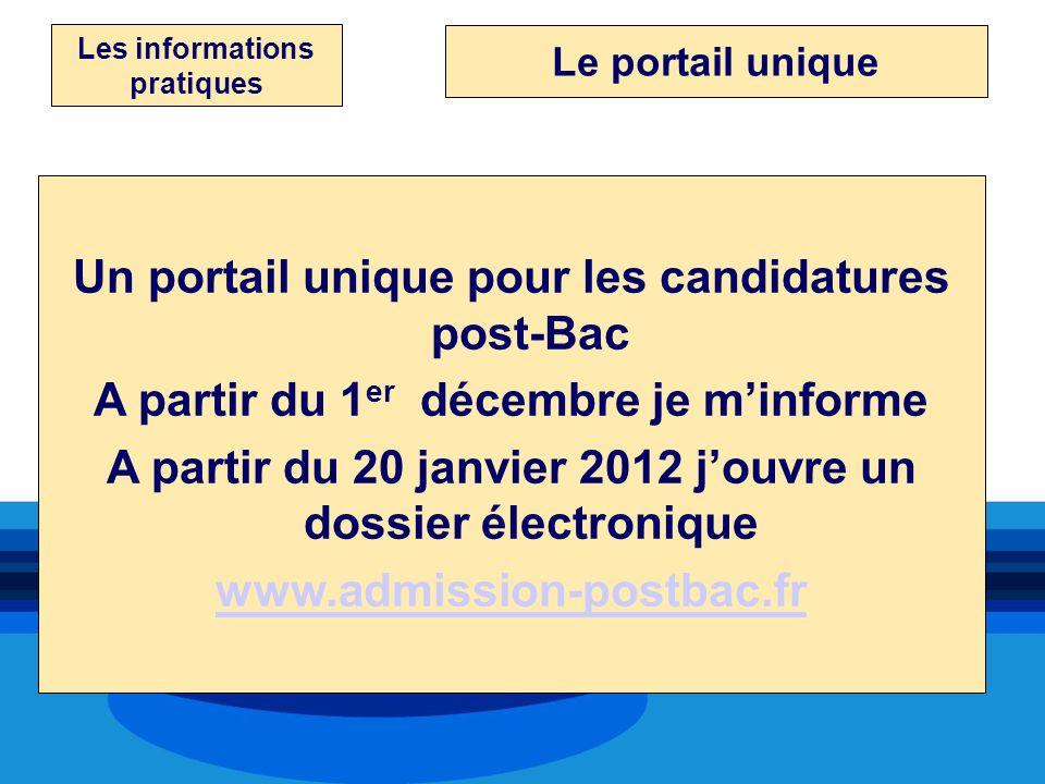 Un portail unique pour les candidatures post-Bac