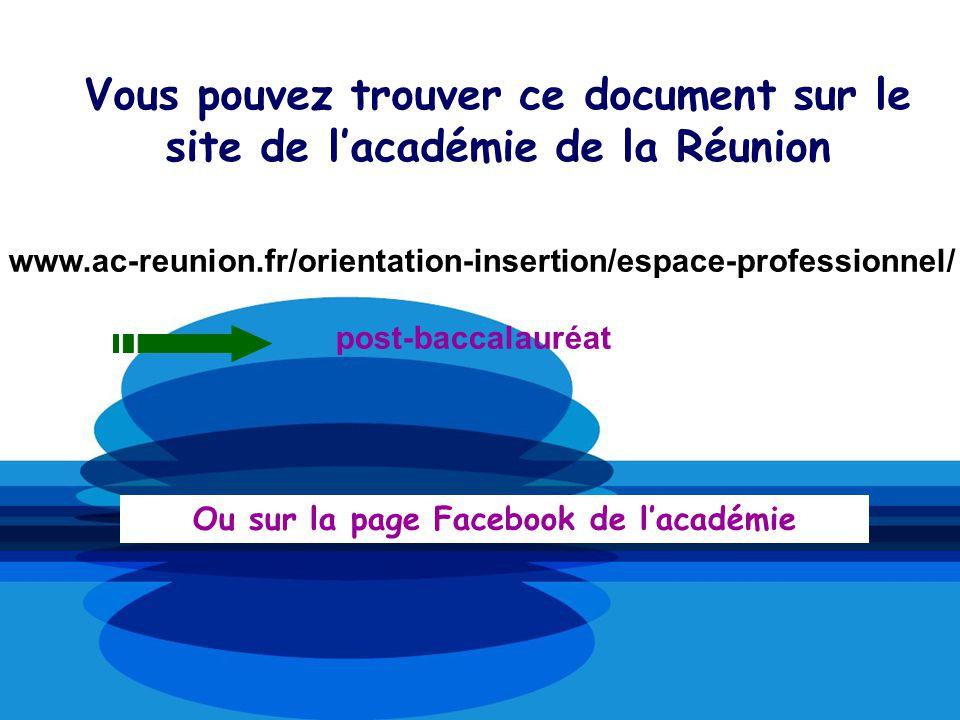 Ou sur la page Facebook de l'académie
