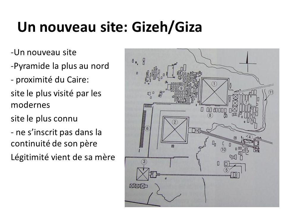 Un nouveau site: Gizeh/Giza