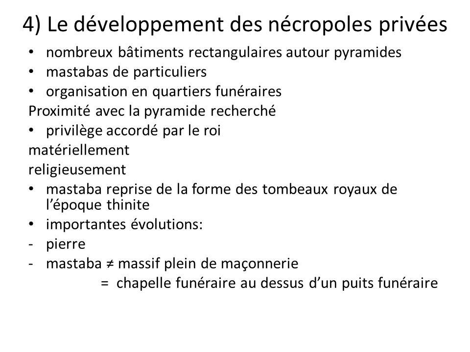 4) Le développement des nécropoles privées