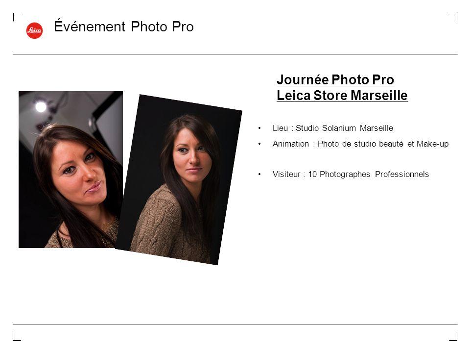 Événement Photo Pro Journée Photo Pro Leica Store Marseille
