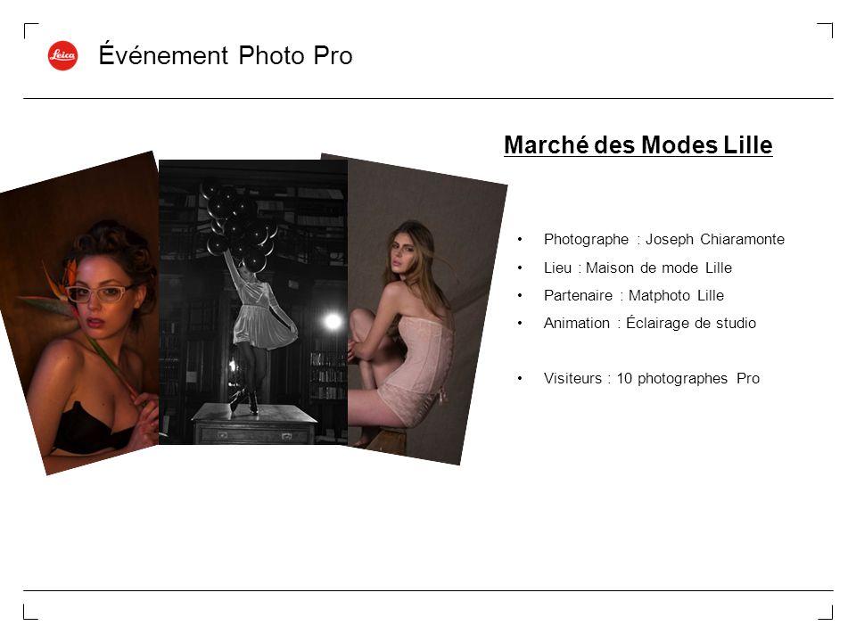 Événement Photo Pro Marché des Modes Lille