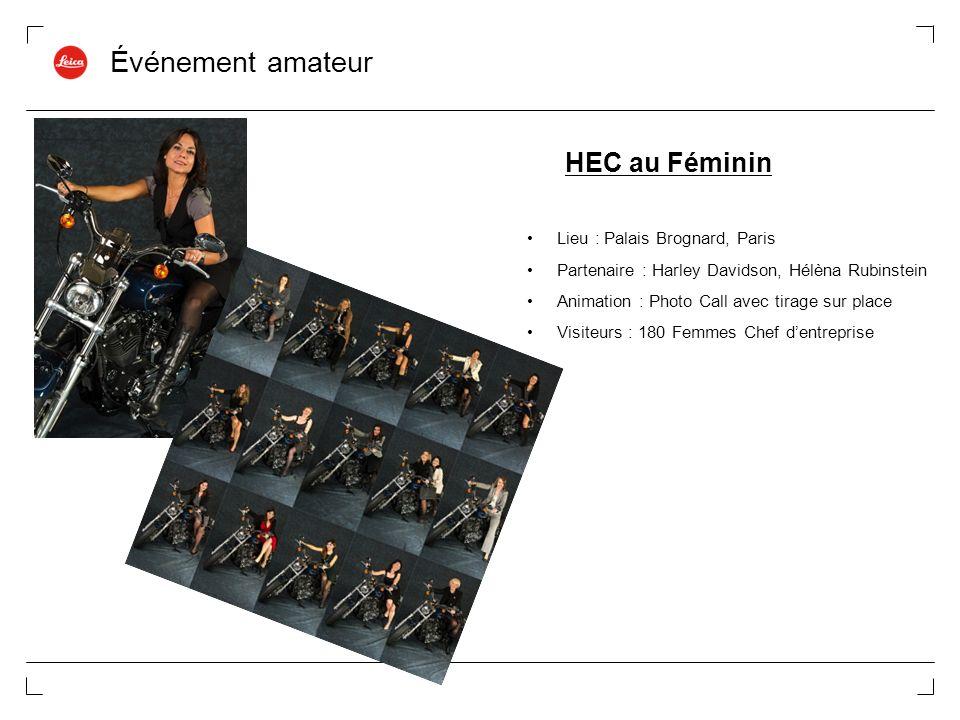 Événement amateur HEC au Féminin Lieu : Palais Brognard, Paris