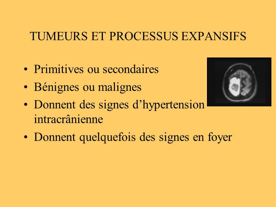 TUMEURS ET PROCESSUS EXPANSIFS