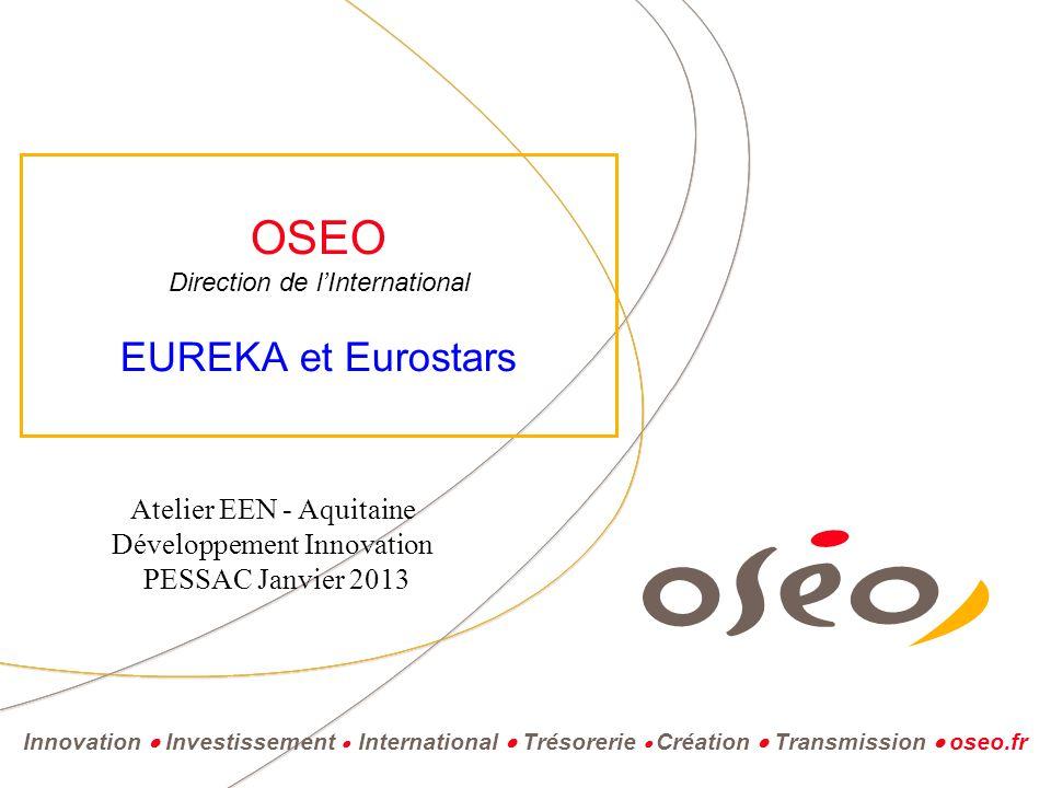 La mission d'Oseo : soutenir l'innovation et la croissance des PME