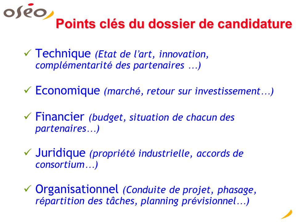 Eurostars, critères d'évaluation