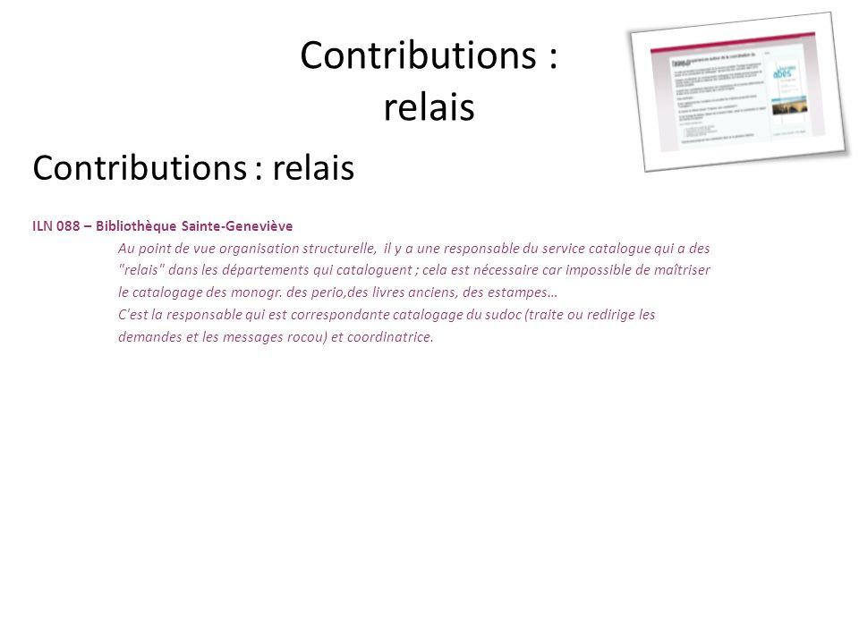 Répartition et harmonisation