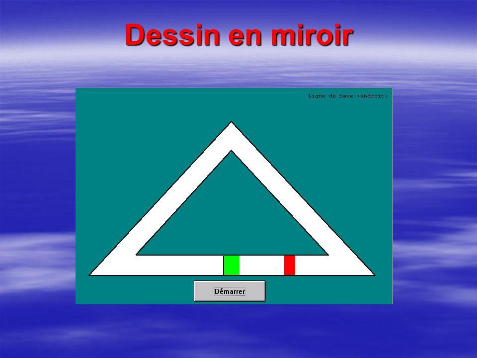 Dessin en miroir