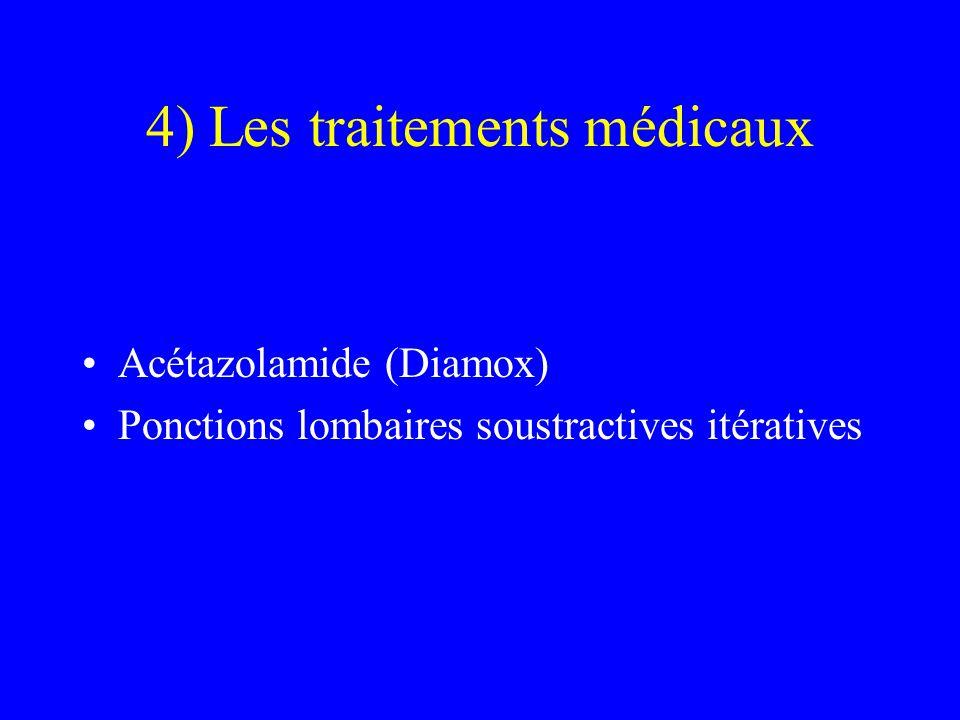 4) Les traitements médicaux