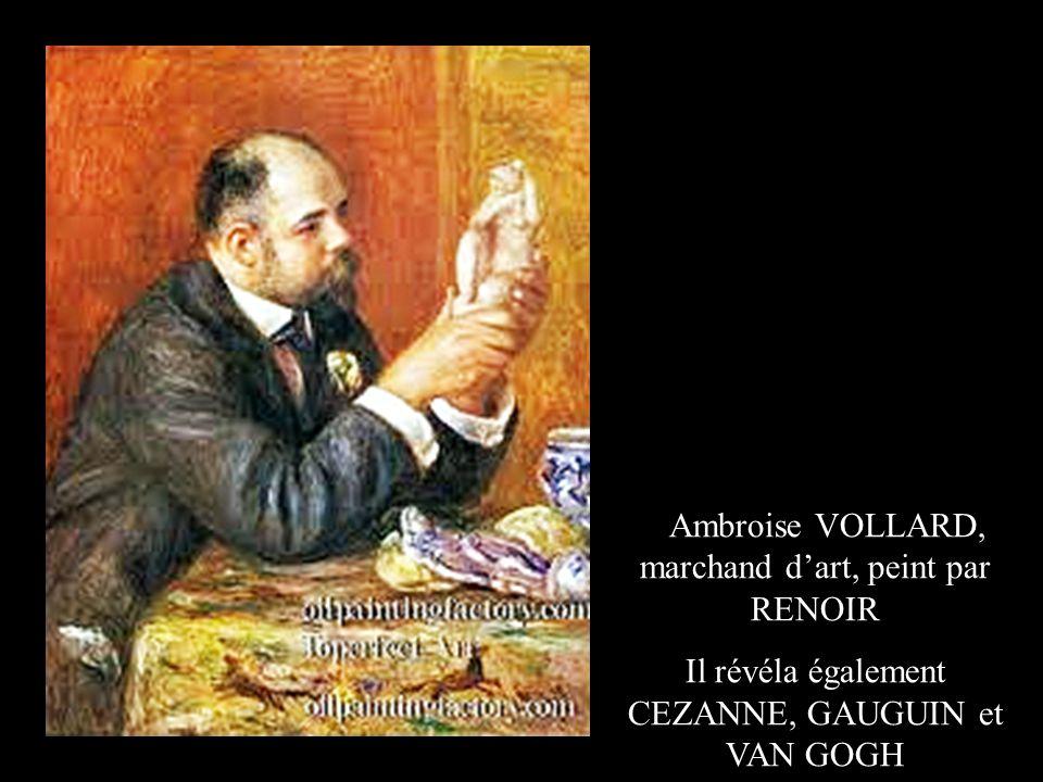 Ambroise VOLLARD, marchand d'art, peint par RENOIR