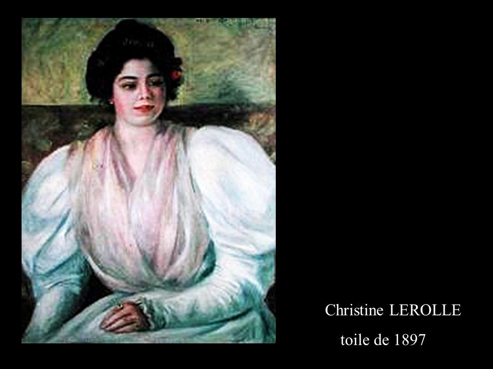 Christine LEROLLE toile de 1897