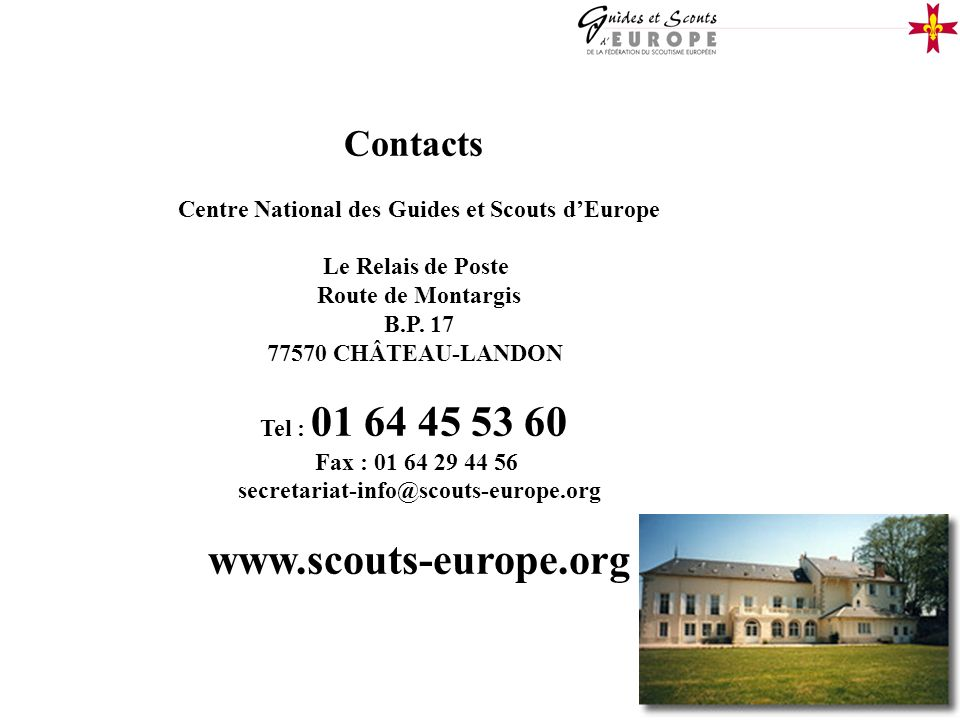 Centre National des Guides et Scouts d'Europe