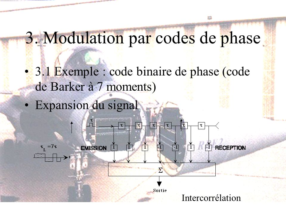 3. Modulation par codes de phase