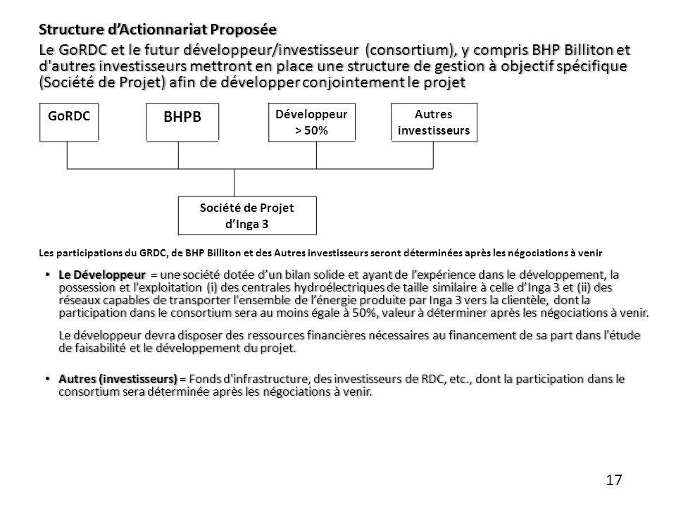 Société de Projet d'Inga 3