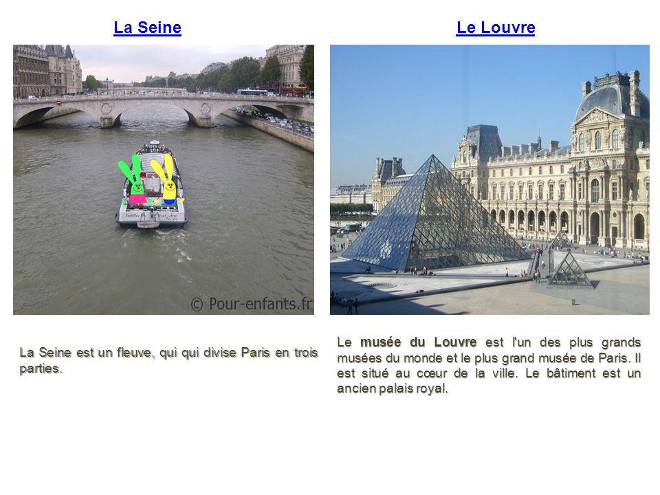 La Seine Le Louvre.