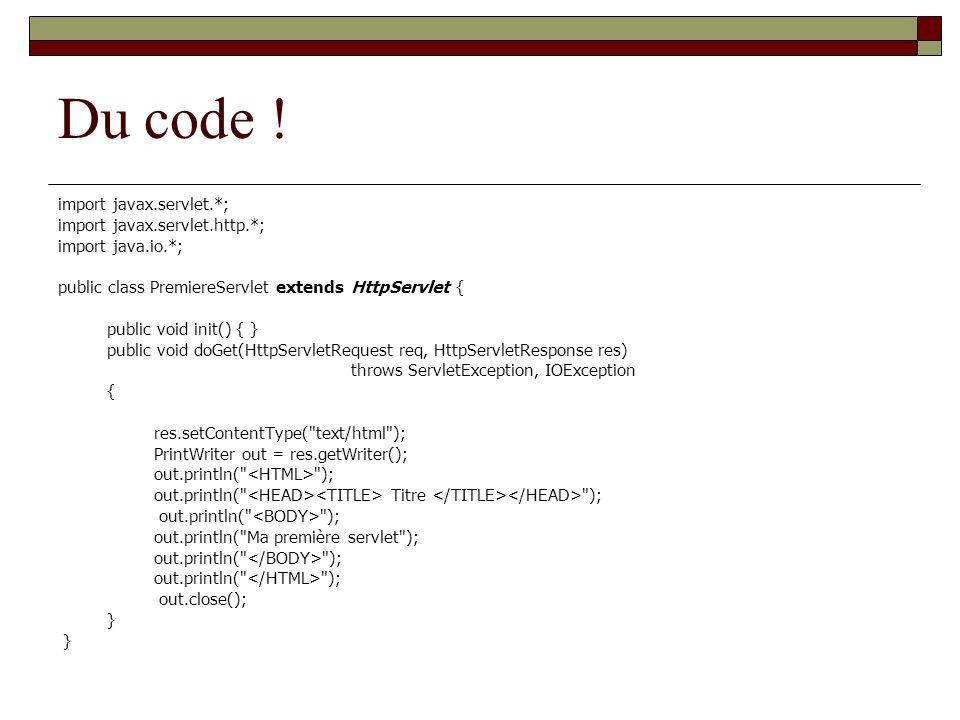 Du code !