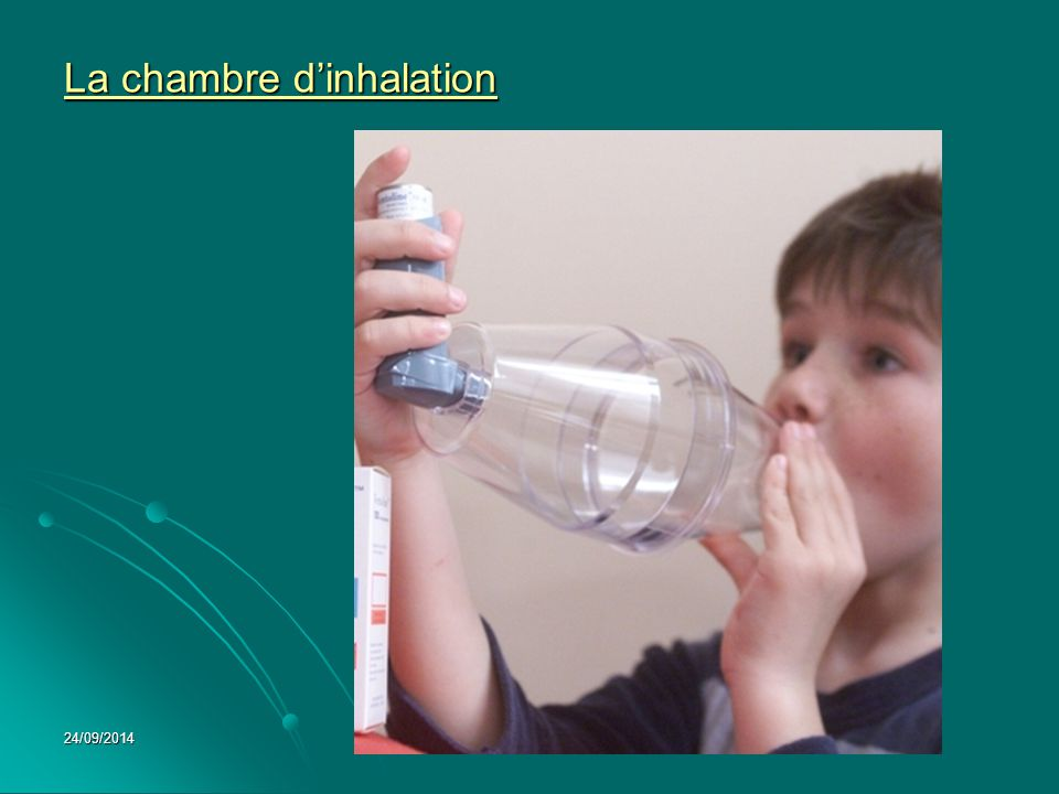 La chambre d'inhalation