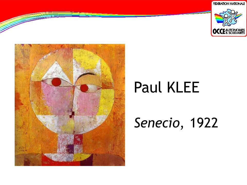 Paul KLEE Senecio, 1922