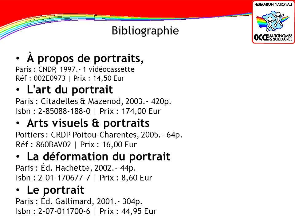 Arts visuels & portraits La déformation du portrait Le portrait
